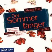 Monika Feth: Der Sommerfänger, 5 CDs