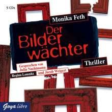 Monika Feth: Der Bilderwächter, 5 CDs