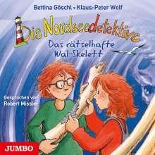 Bettina Göschl: Die Nordseedetektive (3) Das Rätselhafte Walskelett, CD