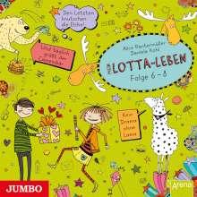 Alice Pantermüller: Mein Lotta-Leben 6./7./8. Den Letzten knutschen die Elche/ Und täglich grüßt der Camembär/ Kein Drama ohne Lama, 3 CDs