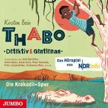Kirsten Boie: Thabo - Detektiv & Gentleman. Die Krokodil-Spur, CD