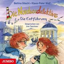 Bettina Göschl: Die Nordseedetektive (7) Die Entführung, CD