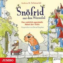 Andreas H. Schmachtl: Snöfrid aus dem Wiesental 07. Das wahrlich sagenhafte Rätsel der Trolle, CD