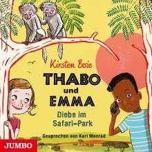 Kirsten Boie: Thabo und Emma (01) Diebe im Safari-Park, CD