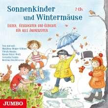 Klaus-Peter Wolf: Sonnenkinder und Wintermäuse. Lieder, Geschichten und Gedichte für alle Jahreszeiten, 2 CDs