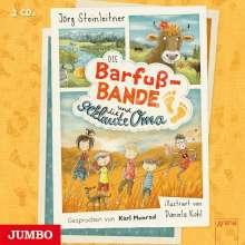 Jörg Steinleitner: Die Barfuß-Bande und die geklaute Oma, 2 CDs