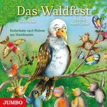 Ulrich Maske: Das Waldfest. Kinderlieder nach Motiven aus Skandinavien, CD