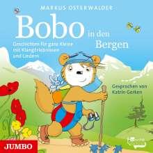 Markus Osterwalder: Bobo Siebenschläfer in den Bergen, CD