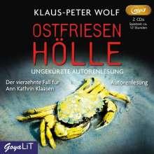 Klaus-Peter Wolf: Ostfriesenhölle (ungekürzt), 2 MP3-CDs