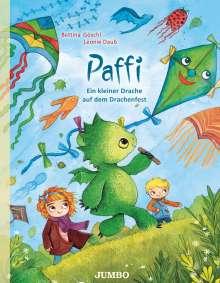 Bettina Göschl: Paffi. Ein kleiner Drache auf dem Drachenfest, Buch