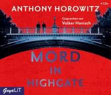 Anthony Horowitz: Mord in Highgate, 4 CDs