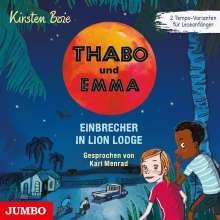 Kirsten Boie: Thabo und Emma (03) Einbrecher in Lion Lodge, CD