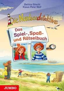 Klaus-Peter Wolf: Die Nordseedetektive. Das Spiel-, Spaß- und Rätselbuch, Buch