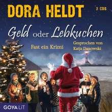 Dora Heldt: Geld oder Lebkuchen, 5 CDs