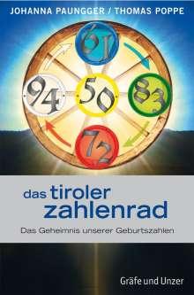 Johanna Paungger: Das Tiroler Zahlenrad, Buch