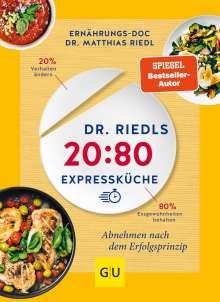 Matthias Riedl: Dr. Riedls 20:80 Expressküche, Buch
