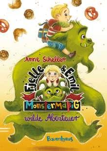 Anne Scheller: Fjelle und Emil - Monstermäßig wilde Abenteuer, Buch