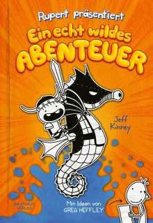 Jeff Kinney: Rupert präsentiert: Ein echt wildes Abenteuer, Buch