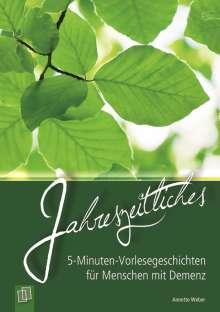 Annette Weber: Jahreszeitliches, Buch