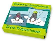 Bildkarten zur Sprachförderung: Erste Präpositionen, Diverse