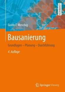Guido Moschig: Bausanierung, Buch