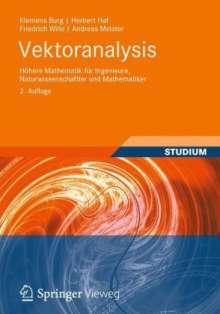 Klemens Burg: Vektoranalysis, Buch