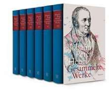 Johann Peter Hebel: Gesammelte Werke, Buch