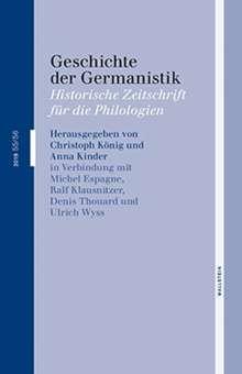 Geschichte der Germanistik, Buch