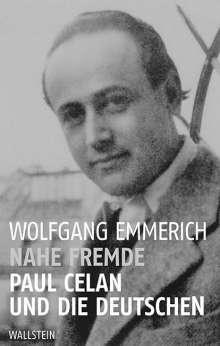 Wolfgang Emmerich: Nahe Fremde, Buch