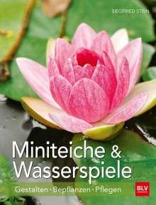 Siegfried Stein: Miniteiche und Wasserspiele, Buch