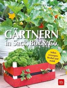 Dorothea Baumjohann: Gärtnern in Box und Sack, Buch