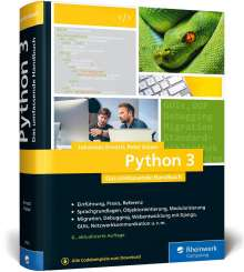 Johannes Ernesti: Python 3, Buch