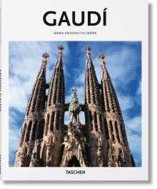 Maria Antonietta Crippa: Gaudí, Buch