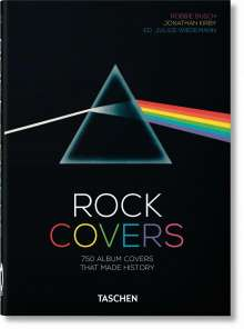 Robbie Busch: Rock Covers - 40th Anniversary Edition, Buch