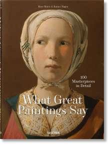 Rainer Hagen: Bildbefragungen 100 Meisterwerke im Detail, Buch