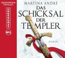 Martina André: Das Schicksal der Templer, MP3-CD