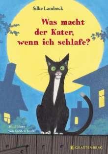 Silke Lambeck: Was macht der Kater, wenn ich schlafe?, Buch