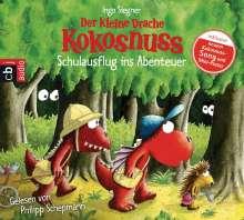 Ingo Siegner: Der kleine Drache Kokosnuss - Schulausflug ins Abenteuer, CD