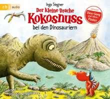Ingo Siegner: Der kleine Drache Kokosnuss bei den Dinosauriern, CD