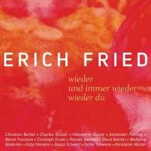 Erich Fried: wieder / und immer wieder / wieder du, CD