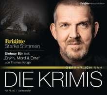 Thomas Krüger: Erwin, Mord & Ente, 4 CDs