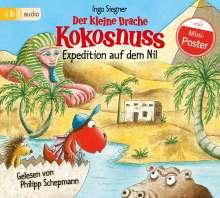 Ingo Siegner: Der kleine Drache Kokosnuss - Expedition auf dem Nil, CD