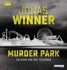 Jonas Winner: Murder Park, 2 MP3-CDs