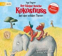 Ingo Siegner: Der kleine Drache Kokosnuss bei den wilden Tieren, CD