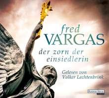 Fred Vargas: Der Zorn der Einsiedlerin, 8 CDs