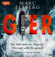 Marc Elsberg: Gier, 2 MP3-CDs