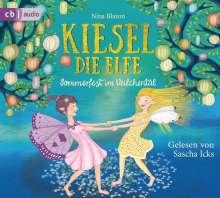 Nina Blazon: Kiesel, die Elfe - Sommerfest im Veilchental, 2 CDs