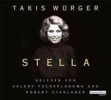Takis Würger: Stella, 4 CDs