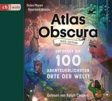 Dylan Thuras: Atlas Obscura - Kids Edition, 3 CDs