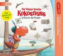 Ingo Siegner: Alles klar! Der kleine Drache Kokosnuss erforscht die Piraten, CD